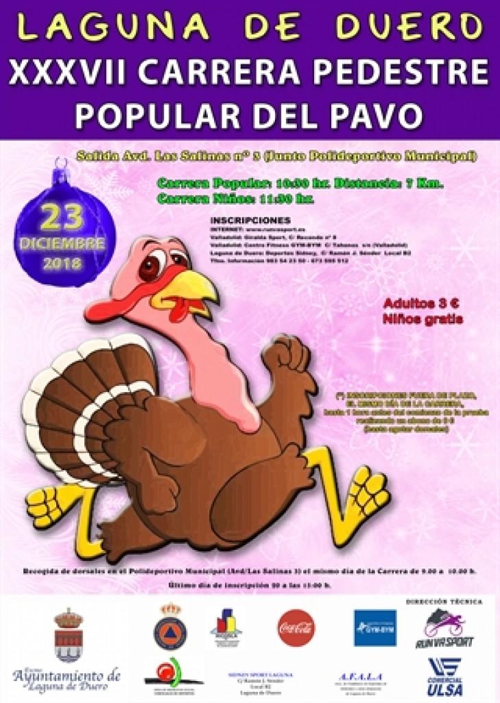 XXXVII Carrera Pedestre Popular del Pavo - Valladolid - 2018